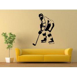 Samolepka na zeď Hokejista 0605