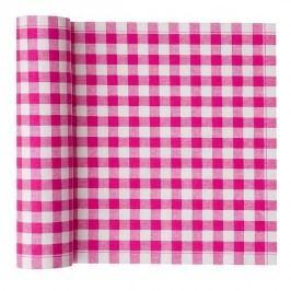 MY drap - Role bavlněných  ubrousků na oběd, fuchsiová kostka 20x20, 20ks (SA21V-804-0)