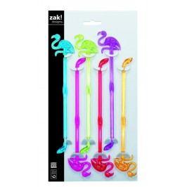 ZAK! designs - Míchátka plameňák 21,5 cm 6ks v setu (2007-4131)