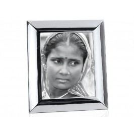 Fotorámeček lesklý, stříbrný, 13x18cm - (AX11035)