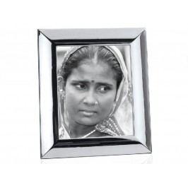Fotorámeček lesklý, stříbrný, 20x25 cm - (AX11037)