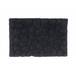 Předložka do koupelny černá - bavlna 50x80cm - (BA12158)
