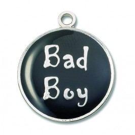 NICI - Kovový přívěšek -Bad Boy - (28759)