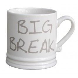 Bastion collections - Hrnek velký bílý/titan Big Break - (RJ-MUG-L-BBREAK-TI)