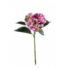 Emerald květiny - Hortenzie světle fialová/zelená, 53cm (74.209)