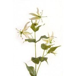 Emerald květiny - Lilie Gloriosa bílá, 70cm (73.569)