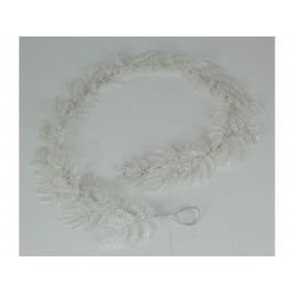 KERSTEN - Girlanda 182cm, bílá, plast/papír (MAS-1769)