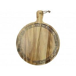 KERSTEN - Dřevěné prkýnko, akát, přírodní 38x30x1.8cm - (WER-0520)
