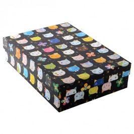 TURNOWSKY - Dárková krabice, Cats black (85522)