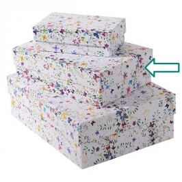 TURNOWSKY - Dárková krabice střední, Flowers purple (85747)