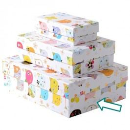 TURNOWSKY - Dárková krabice velká, Cats white (85728)
