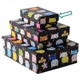 TURNOWSKY - Dárková krabice malá, Cats black (85723)