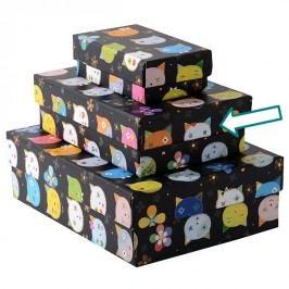 TURNOWSKY - Dárková krabice střední, Cats black (85724)
