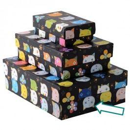 TURNOWSKY - Dárková krabice velká, Cats black (85725)