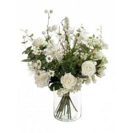 Emerald květiny - Pugét