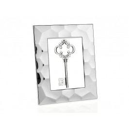 Fotorámeček stříbrný, ocel 10x15cm - (AX16173)