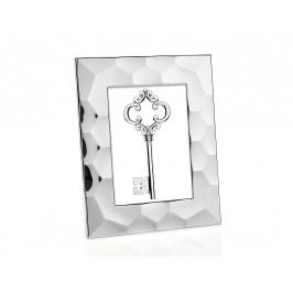 Fotorámeček stříbrný, ocel 15x20cm - (AX16175)