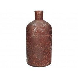 KERSTEN - Váza z recyklovaného skla, Marsala 13,5x13,5x28cm - (WER-0617)