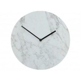 KERSTEN - Hodiny dřevěné, bílé, 30x4,5x30cm - (WER-1088)