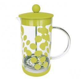 ZAK! designs - Dot Dot konvice na čaj/kávu 1l s protiskluz. dnem, zelená, varné sklo/ silikon/PP (02