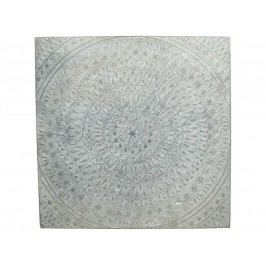 KERSTEN - Nástěnná dekorace, plech., šedá, 58x2.5x58cm - (WER-2783)
