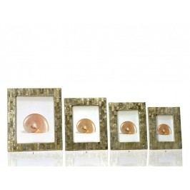 Fotorámeček perleťový mozaika 13x18cm - (AX14151)