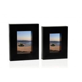 Fotorámeček černý 10x15cm - (AX14232)
