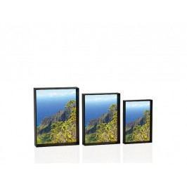Set 3 fotorámečků, černé 15x10/18x13/20x15cm - (AX14235)