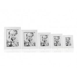 Fotorámeček bílý  A4 - (AX64114)