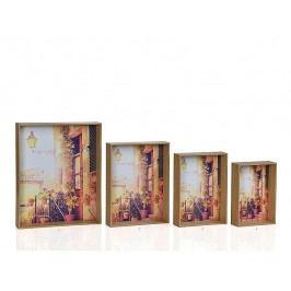Fotorámaček dřevěný - dub 10x15cm - (AX64151)