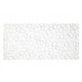 Předložka do koupelny, transparentní, 36x75cm - (BA62068)