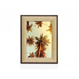 Fotorámeček dřevěný, hnědý 10x15cm - (AX16069)