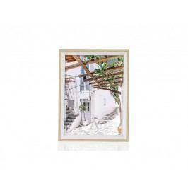 Fotorámeček bílý, dřevěný 15x20cm - (AX66307)