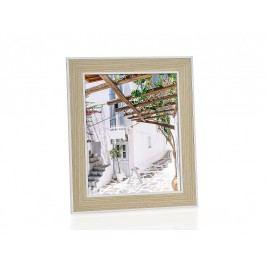 Fotorámeček dřevěný, bílý  20x25cm - (AX66096)