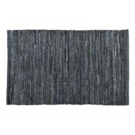 Běhoun šedý, kožený efekt 60x90cm - (AX66058)