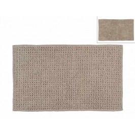 Předložka do koupelny, tmavěbéžová, 50x80cm - (BA65225)