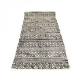 KERSTEN - Koberec, textilie, černý, 160x80cm - (WER-0640)