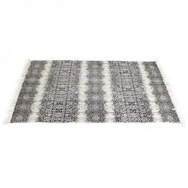 KERSTEN - Koberec, textilie, černý, 180x120cm - (WER-0639)