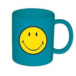 ZAK! designs - Hrnek, smiley, melamin, modrý, 35cl - (6662-1598)