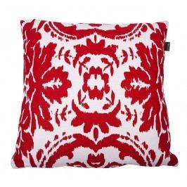 In the MOOD - Polštář, červeno-bílý potisk, vč. výplně, 50x50cm - (462-216-02)