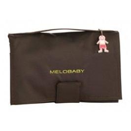 Melobaby MELOCHOC - hnědá taška + zelená přebalovací podložka