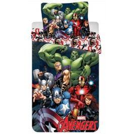 Jerry Fabrics Dětské oboustranné povlečení Avengers 2016, 140x200 cm/70x90 cm - barevné