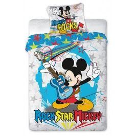 Faro Dětské oboustranné povlečení Mickey Mouse, 160x200 cm - barevné