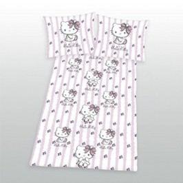 Herding Dětské povlečení Hello Kitty, 140x200 cm