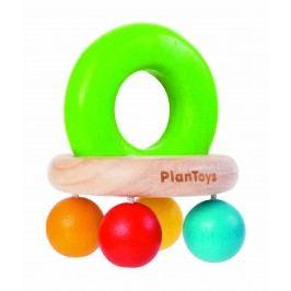 Montessori - Plan Toys Chrastítko s korálky