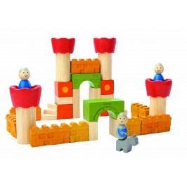 Montessori - Plan Toys Kostky - hrad