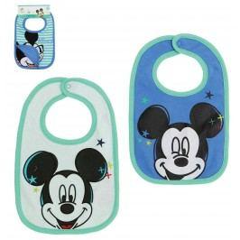 Disney Set bryndáků Mickey Mouse - modrý a bílý