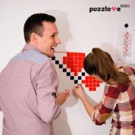 Puzzlove Dekorativní samolepící puzzle Batman
