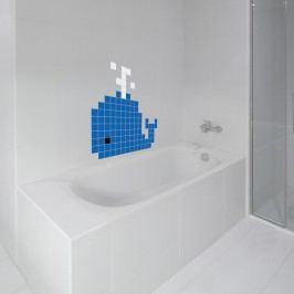 Puzzlove Dekorativní samolepící puzzle Velryba