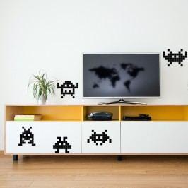 Puzzlove Dekorativní samolepící puzzle Příšerky